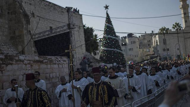 Christmas celebrations in Bethlehem (Photo: GettyImages)