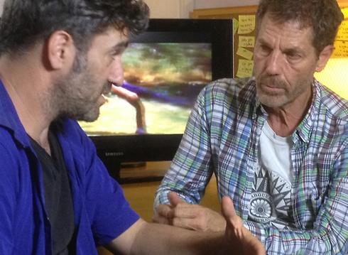 """אוהד נהרין בסרט """"מיסטר גאגא"""" (צילום: איתי רזיאל)"""