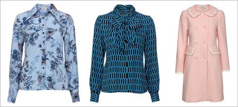 מעיל בצבע ורוד פודרה, 899 שקל; חולצת רוזמרי, 399 שקל; חולצה מכופתרת עם צווארון, 399 שקל (צילום: ניר יפה )