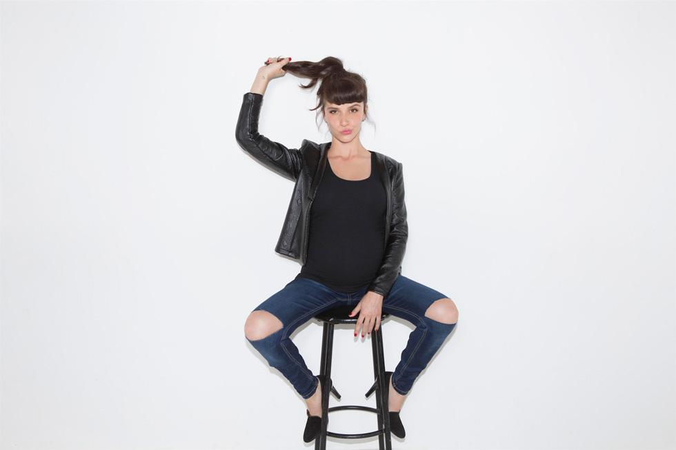 יאנה יוסף לרמי-לי. מבחר נאה של שטיפות וגזרות בקו מכנסי הג'ינס  (צילום: גיא כושי ויריב פיין)