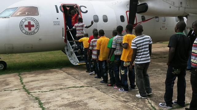 (צילום: ICRC/Augustine Nziavake) (צילום: ICRC/Augustine Nziavake)