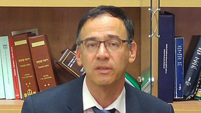 """""""נפל היום דבר בישראל"""". פרקליט המדינה ניצן (צילום: אלי סגל) (צילום: אלי סגל)"""
