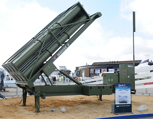 The Barak 8 system comes in both land and sea versions (Photo: IAI)