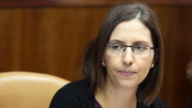 Minister of Social Justice Gila Gamliel (Photo: Mark Israel Salem)