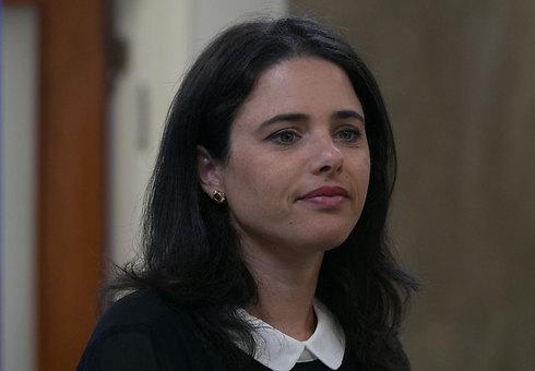 Justice Minister Ayelet Shaked (Photo: Ohad Zwigenberg)