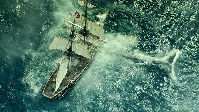 """הלוויתן ואוניית האסקס מתוך """"בלב ים"""" ()"""