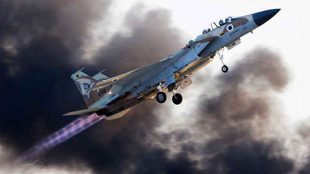 The IAF's F-15 fighter jets (Photo: EPA) (Photo: EPA)