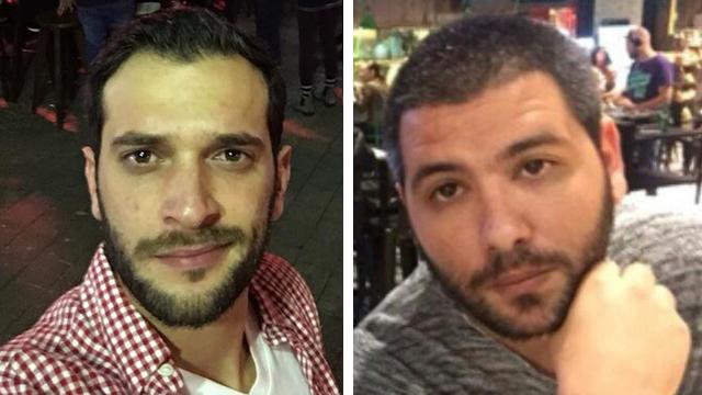 """קורבנות הפיגוע: שמעון רוימי ואלון בקל ז""""ל ()"""