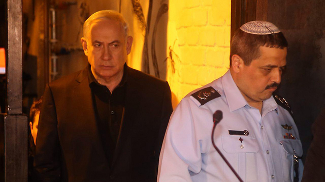 Netanyahu and Alsheikh. If the prime minister thought he was selecting a loyalist as the police commissioner, he was wrong  (Photo: Motti Kimchi)