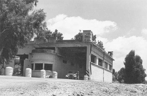 בית המכס העליון ברמת הגולן, תמונה היסטורית
