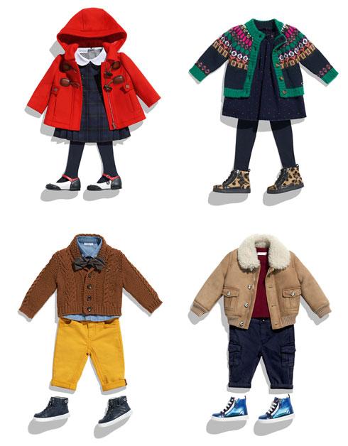 בגדי הילדים של גוצ'י. המחיר הממוצע לפריט עומד על 800-700 שקל