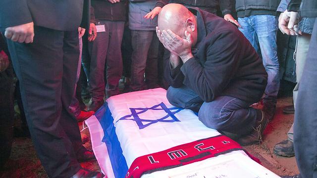 אביו של אלון בקל (צילום: AFP) (צילום: AFP)