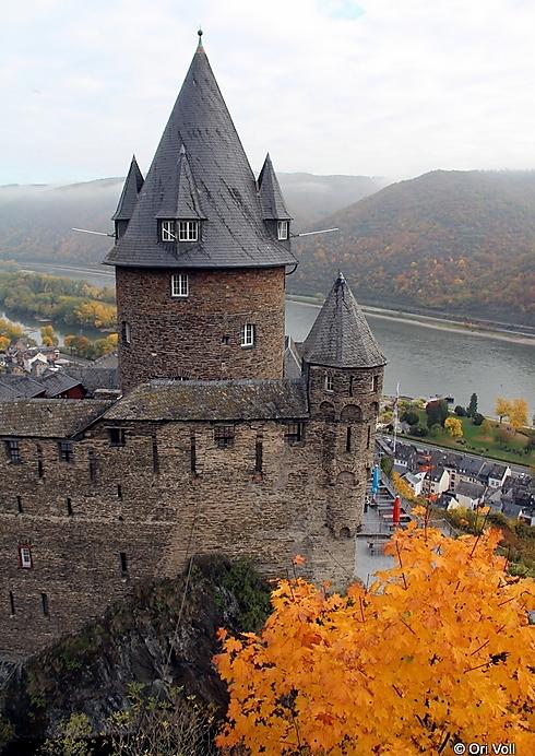 בזמן מסע הצלב השני בשנת 1146 לספירה, ביקשו יהודי בכרך מקלט במצודה, אך נטבחו בכל זאת (צילום: אורי וול) (צילום: אורי וול)