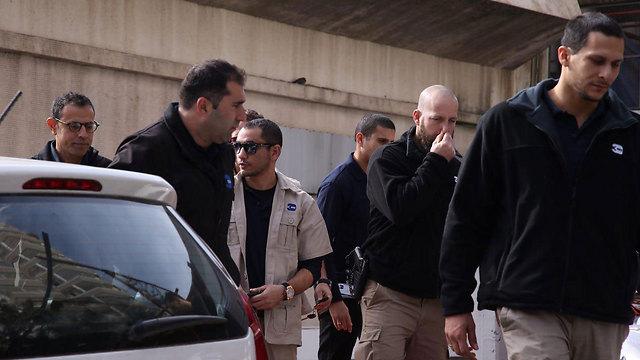 סריקות המשטרה בתל אביב (צילום: מוטי קמחי) (צילום: מוטי קמחי)