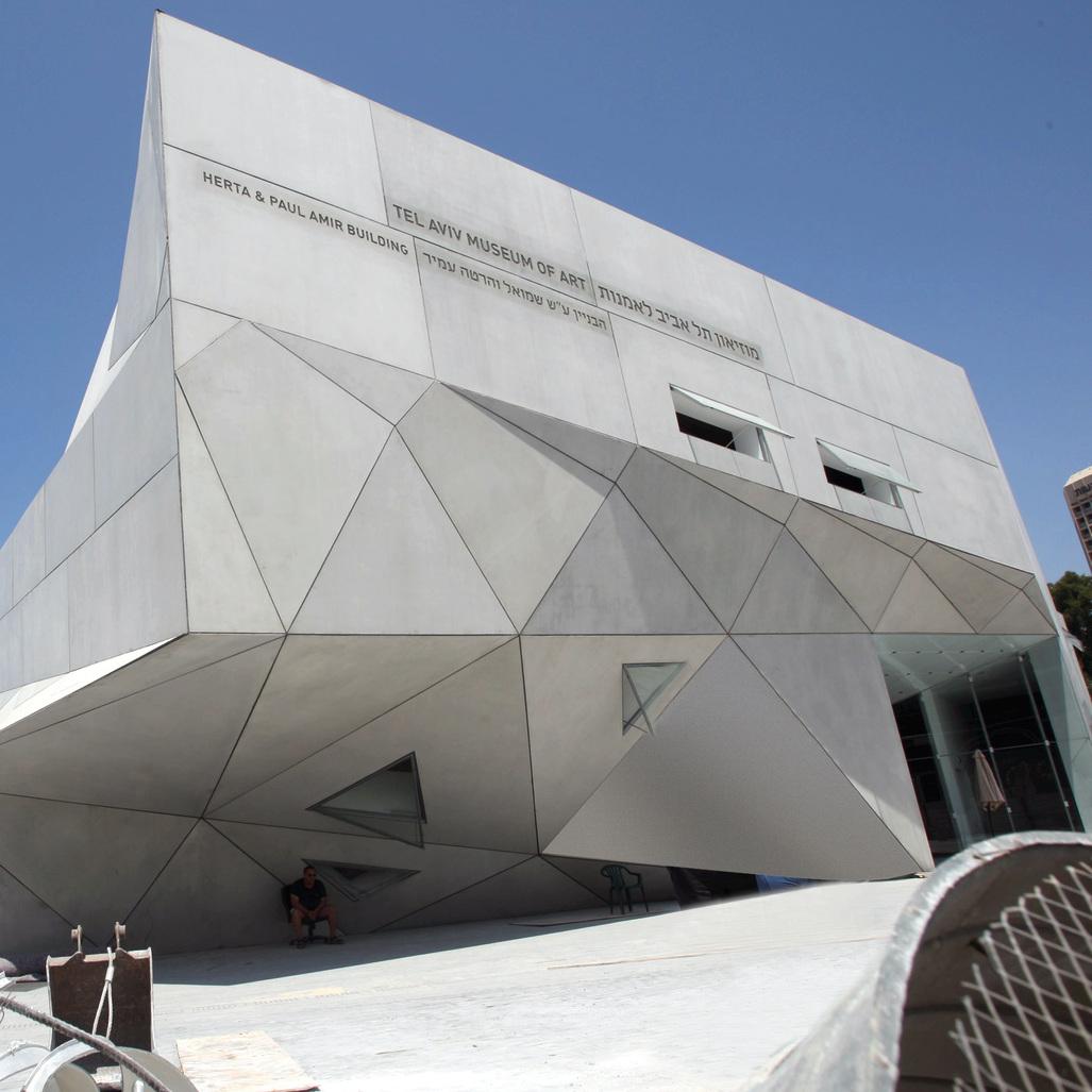"""מוזיאון תל־אביב לאמנות. """"יש אפשרות של ניימינג של מחלקה""""   צילום: עמית מגל"""