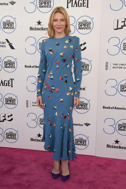 זו רק נראית כמו שמלת יום. סקיאפרלי קוטור, 2015 (צילום: gettyimages)