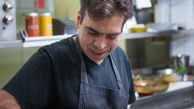 """שף רפי כהן, מסעדת """"רפאל"""" (צילום: ירון ברנר)"""