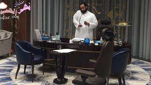 עוד יום במשרד. מוחמד בן סלמאן