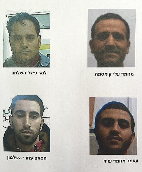 """חברי החוליה שנעצרו (צילום: תקשורת שב""""כ) (צילום: תקשורת שב"""