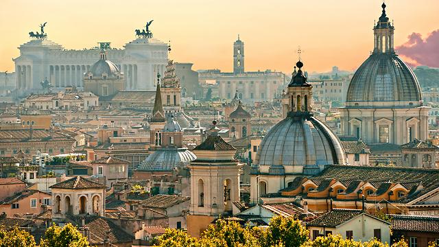 הבירה שתמיד כיף לחזור אליה: רומא (צילום: shutterstock)