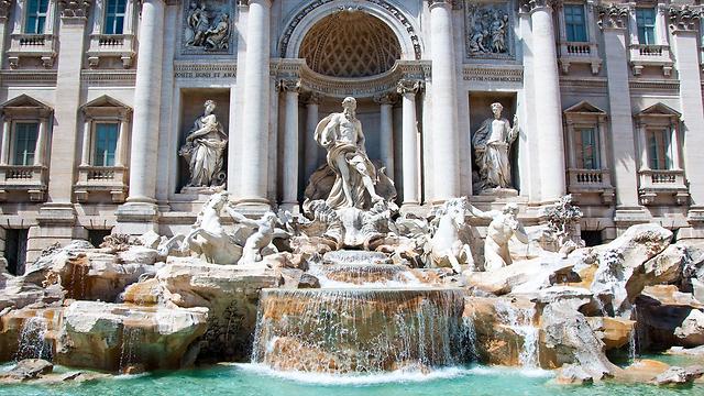 מזרקת המשאלות, רומא (צילום: shutterstock) (צילום: shutterstock)
