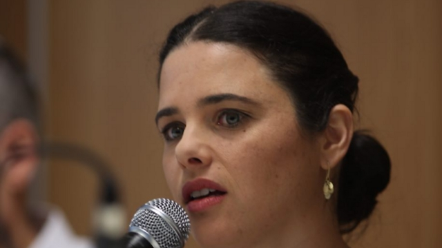 Justice Minister Ayelet Shaked (Photo: Motti Kimchi)