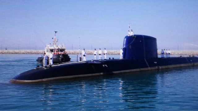 IDF submarine (Photo: Elad Gershgorn)