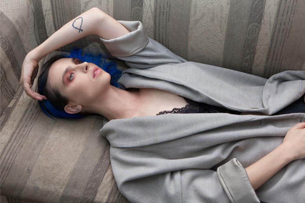 גוסטה. טוויסט אלגנטי בקולקציה של המותג המזוהה עם בגדים מחוספסים (צילום: רותם רייצ'ל חן)