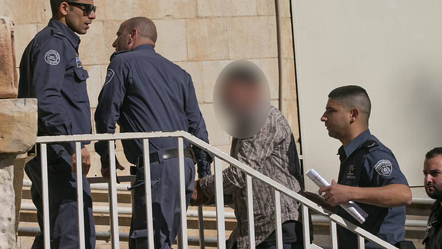 A left-wing activist who was arrested on suspicion of passing on information that led to the death of a Palestinian and of contacting a foreign agent (Photo: Ohad Tzvigenburg)