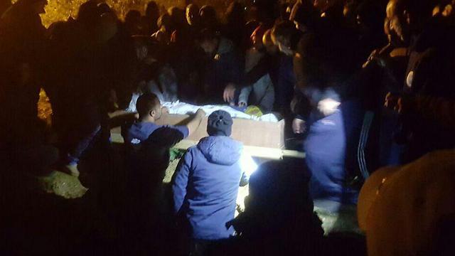 Nashat Melhem's funeral