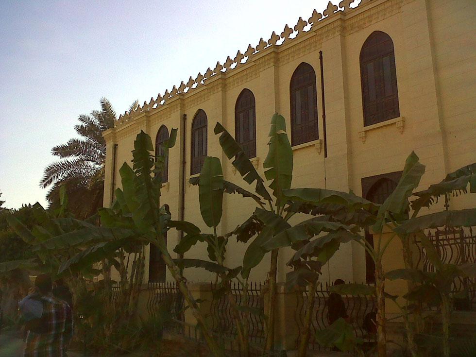 בית כנסת הגניזה בקהיר (בן עזרא), ששומר ושוקם בהובלתה של למברט (צילום: Faris knight, cc)