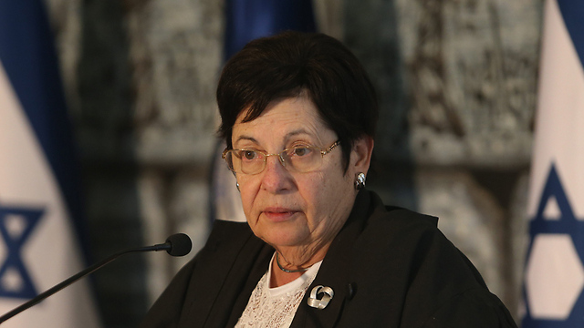 נשיאת העליון נאור (צילום: אלכס קולומויסקי) (צילום: אלכס קולומויסקי)