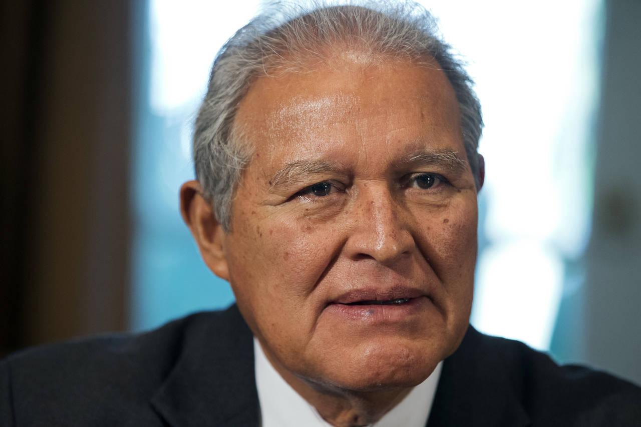 Sanchez Ceren, President of El Salvador (Photo: AP)