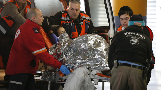 Michal Fruman evacuated to hospital (Photo: Reuters)
