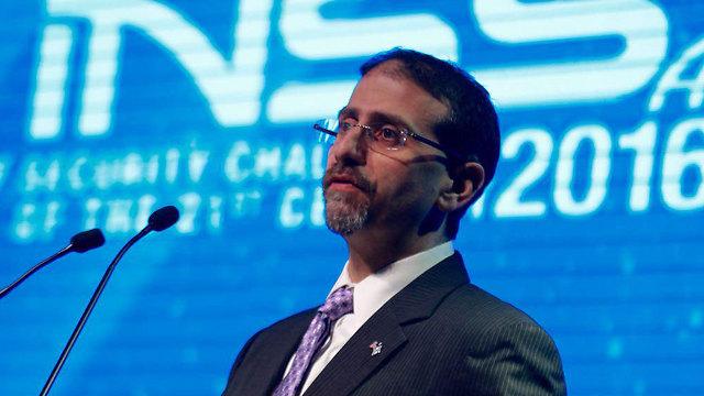 US Ambassador to Israel Dan Shapiro speaking at the INSS conference (Photo: Motti Kimchi)