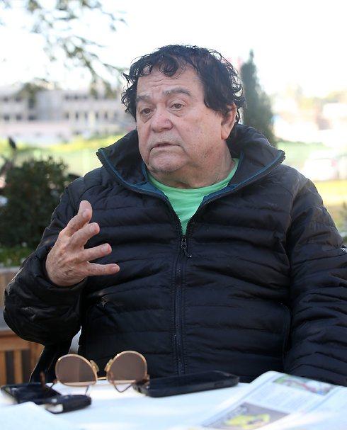 """""""פעל ככל יכולתו לקידום הכדורגל הישראלי"""". לוי (צילום: אורן אהרוני) (צילום: אורן אהרוני)"""
