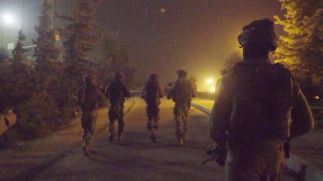 Members of the elite Duvdevan Unit on Monday night (Photo: IDF Spokesman's Unit)