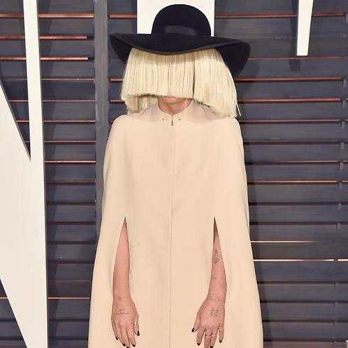 Chandelier singer sia to perform in israel the singer is known for a tendency to hide her face in public appearances photo aloadofball Image collections