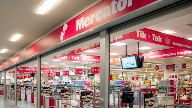 Mercator, Slovenia's largest supermarket chain, has removed Israeli products from its shelves