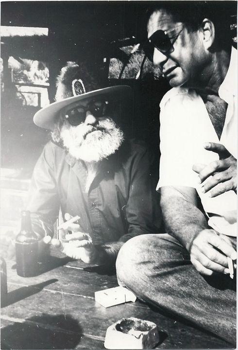 דקס ורפי נלסון זכרנם לברכה - היו ימים באילת (צילום: מוזיאון אילת עירי)