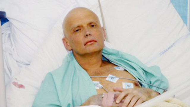 Александр Литвиненко. Фото: АР