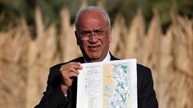 Saeb Erekat (Photo: AFP)