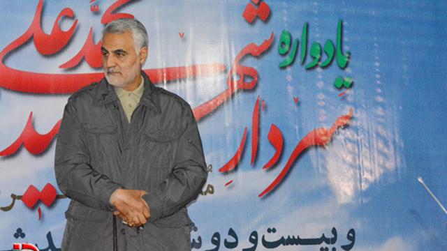 Qassem Suleimani, commander of the Quds Force