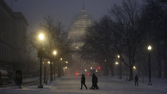 התחבורה הציבורית שותקה בוושינגטון  (צילום: רויטרס) (צילום: רויטרס)