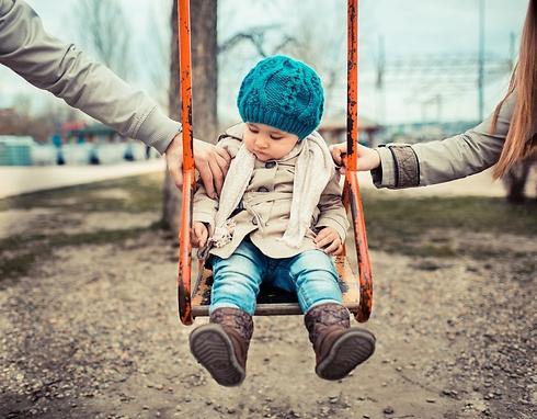 אל תערבו ילדים במאבק הזה. ילדים אינם צד בהליכי גירושין (צילום: Shutterstock)