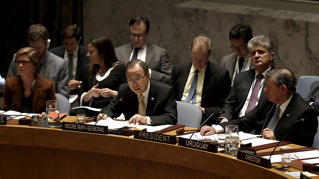 UN Secretary-General Ban Ki-moon speaking to the UN Security Council (Photo: Reuters)