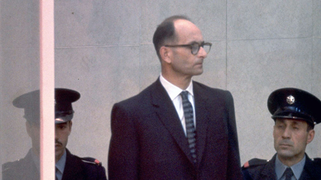 Nazi Adolf Eichmann is one of only two men to have been executed by Israel in its entire history (Photo: Mili Gon, GPO)