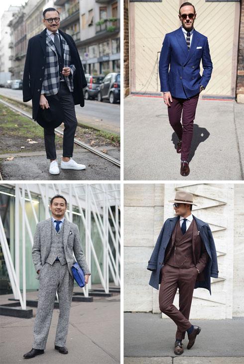 """גברים בשבועות האופנה בעולם. """"אנחנו לא מבינים באופנה ואין לנו עניין להסתובב לבושים בחליפת שלושה חלקים"""" (צילום: gettyimages)"""