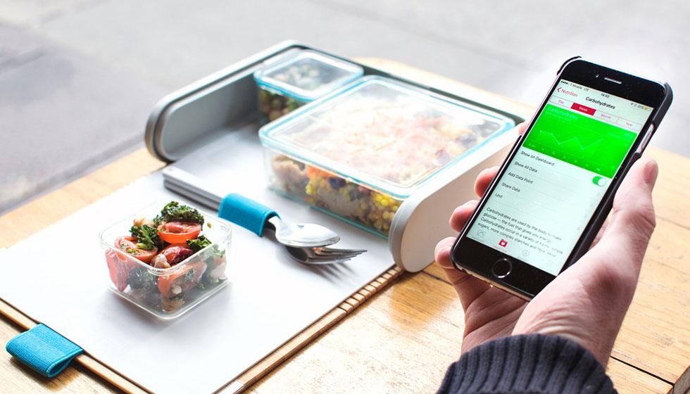 קופסת האוכל המודולרית של Prepd Pack לא רק מעוצבת היטב. היא מגיעה עם אפליקציית מתכונים המותאמים לכמויות שהיא מכילה