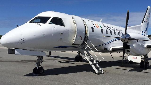מטוס חברת TUS Airways הקפריסאית (צילום: TUS Airways) (צילום: TUS Airways)